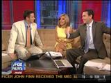 "ALISYN CAMEROTA legs ""Fox n Friends"" (July 26, 2009) - *newsbabe legs*"
