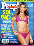 Daisy Fuentes People 3/2003 Mexico [BIKINI]