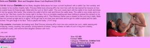 Brat Princess 2: Bella and Daneilla - Mom and Daughter Abuse Cuck Boyfriend (720 HD)
