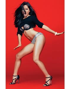 Olivia Munn uncovered GQ photo