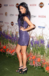 Nicole Scherzinger leggy arrives for the 11th Annual MAXIM HOT 100 Party held at Paramount Studios on May 19, 2010 in Los Angeles - Hot Celebs Home