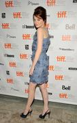 Emma Stone @ Isabel Bader Theatre, Toronto for premiere of 'Easy A' - Sep 11, not HQ