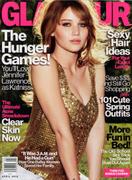 Jennifer Lawrence - Glamour Magazine April 2012 Scans