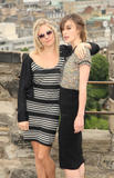Sienna Miller and Keira Knightley at The Edge of Love photocall in Edinburgh