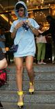 Rihanna leggy pictures