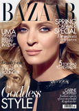 Uma Thurman Harper�s Bazaar UK February 2012