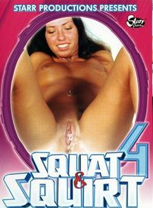 Girl peeing in cat box